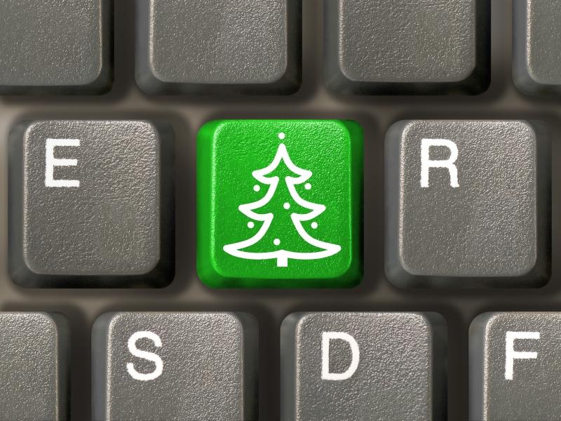 Weihnachtstastatur